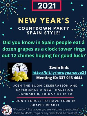 New Year's Celebration Spain Style