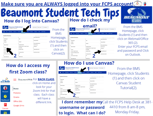 Beaumont Student Tech Tips