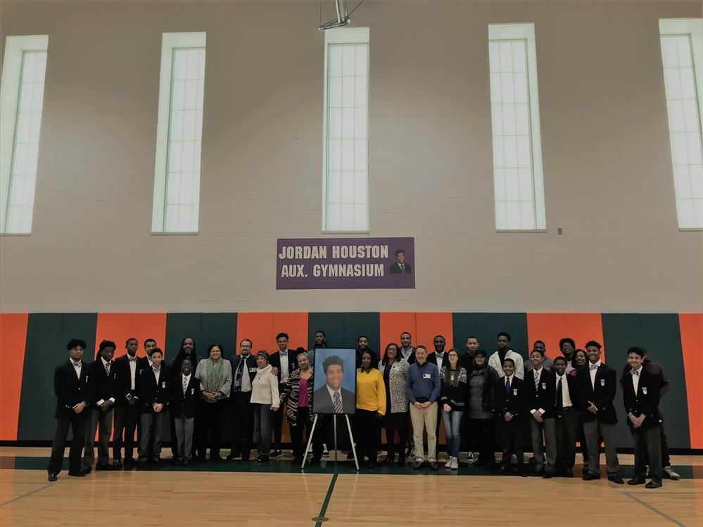 Jordan Houston Memorial Gym Dedication