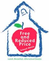 free and reduced meals logo