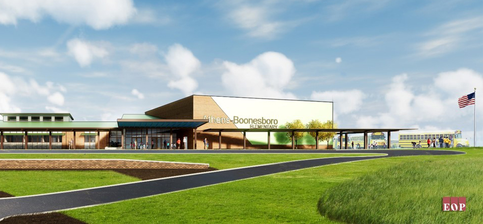 artist rendering of new elementary school