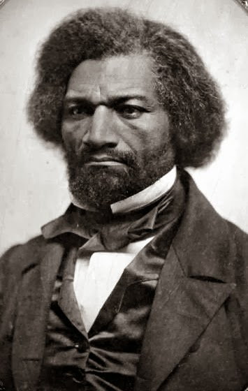 A portrait of Frederick Douglass