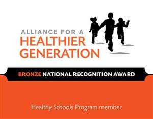Alliance for a Healthier Generation Bronze Award
