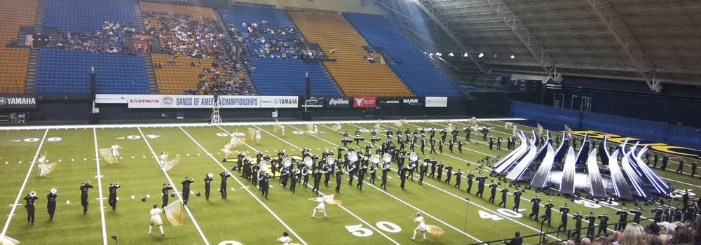 Lafayette's marching band competed Oct. 12 in Johnson City, Tennessee.