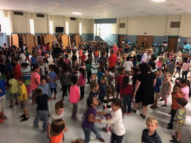 Celebrate student's Positive Behavior at the PBIS Dance party at the end of each month!