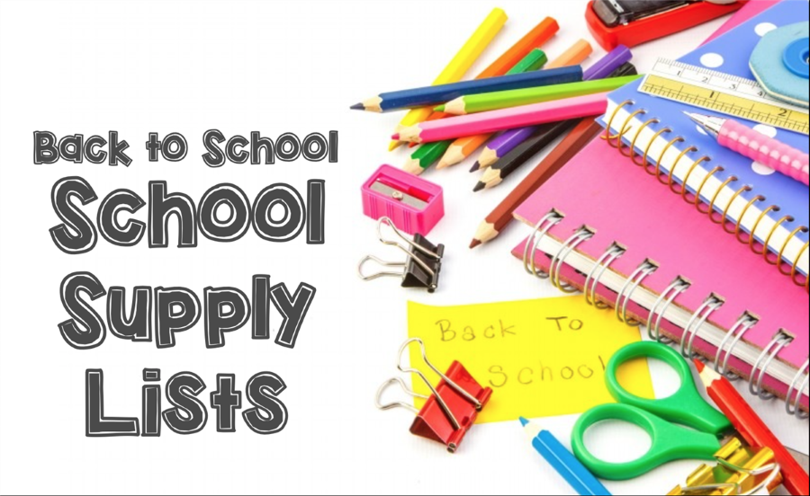 School Supply Lists 2018/19