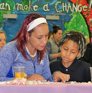 'Muffins with Mom' was a big hit at Northern Elementary.