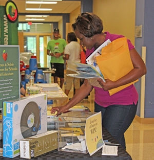 The event brought together a variety of fundraising options and other materials for chapters.