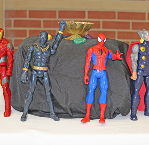 superhero action figures