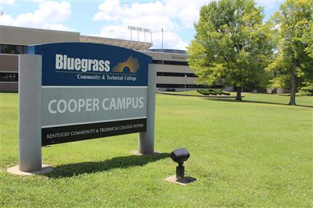 BCTC Cooper Campus sign