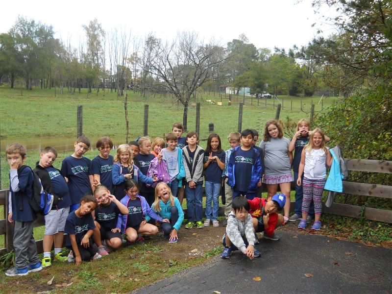 3rd graders took a field trip to Salato Wildlife Reserve in Frankfort