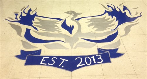 Student painted entry STEAM phoenix