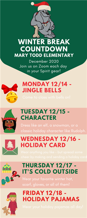 Holiday Spirit Week