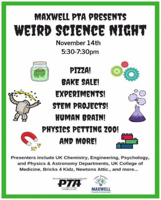 Weird Science Night