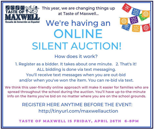 Taste of Maxwell Auction