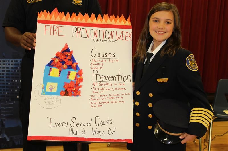 2017-2018 Junior Fire Chief