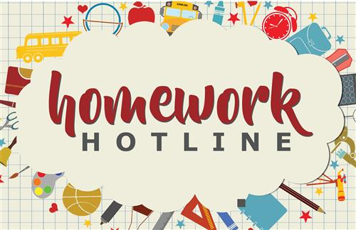 fcps homework hotline