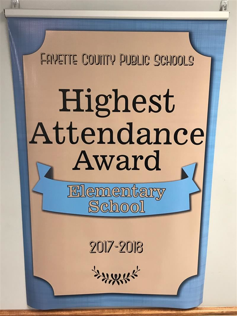 Rosa Parks Elementary School is Blazing the Trail with Perfect Attendance!