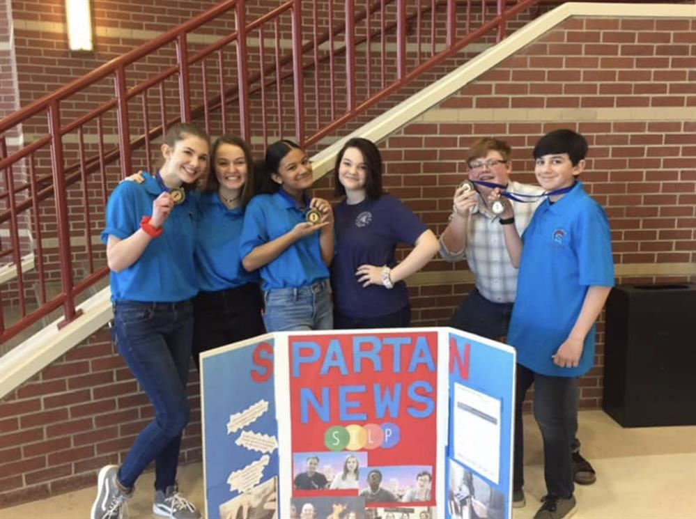 SMS Students Earn Top Honors in District STLP Competition