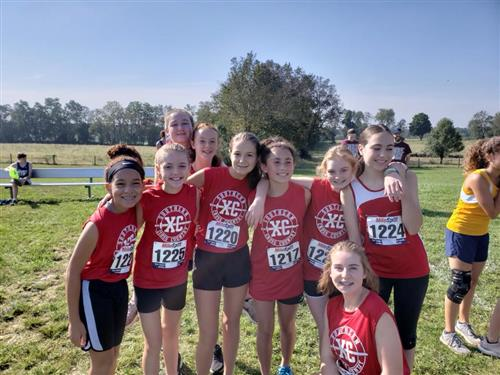 SMS Cross Country Team