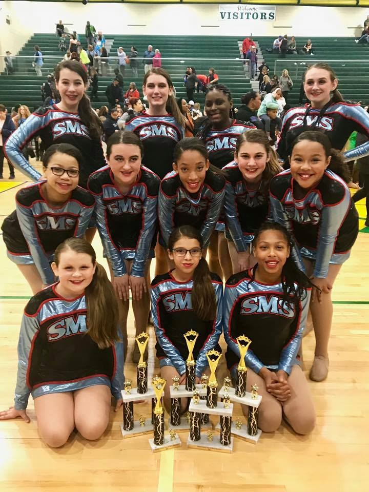 SMS Dance Team Competes in City Showcase