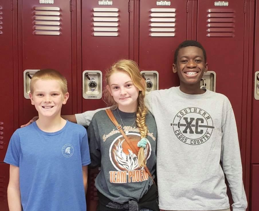 SMS Students Named to Cross Country All-Region Team