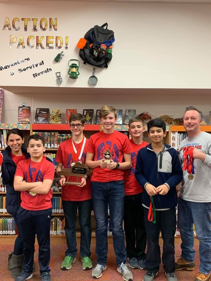 SMS Academic Team Places 2nd In Overall Competition