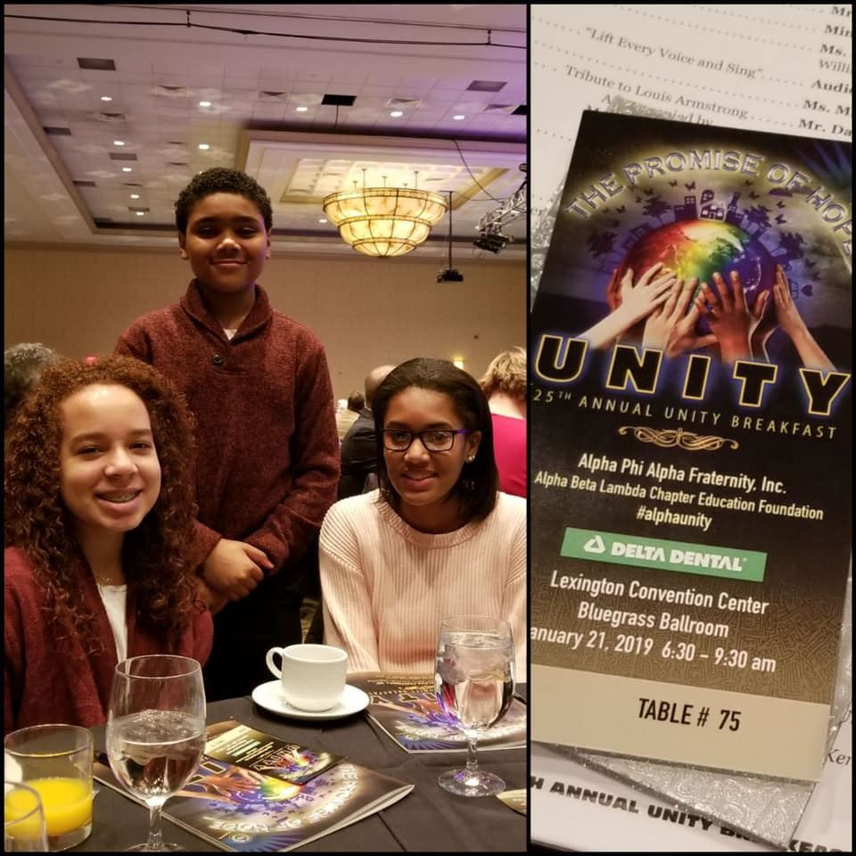 SMS Students Attend MLK Unity Breakfast
