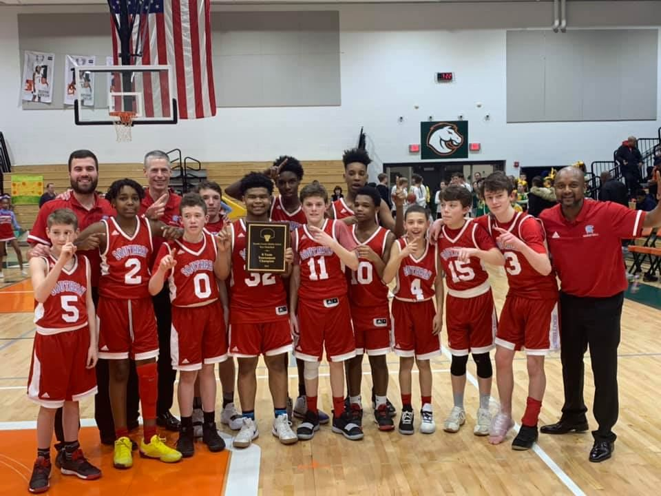 It's Champion and Runner-Up Titles for SMS Boys Basketball Program