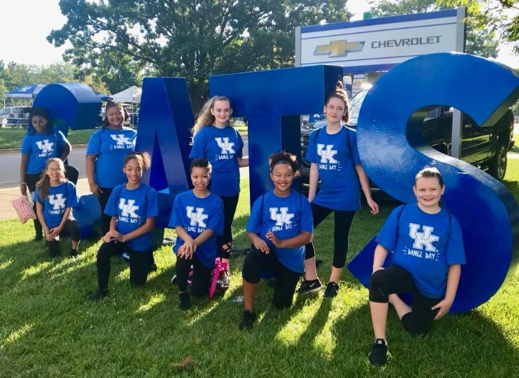 "SMS Spartan Dance Team Participates in UK's ""Dance Day"""