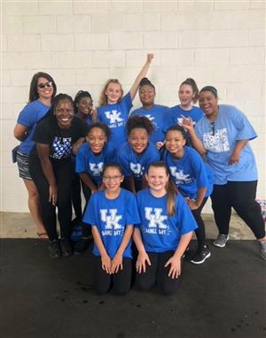 SMS Dance Team at UK