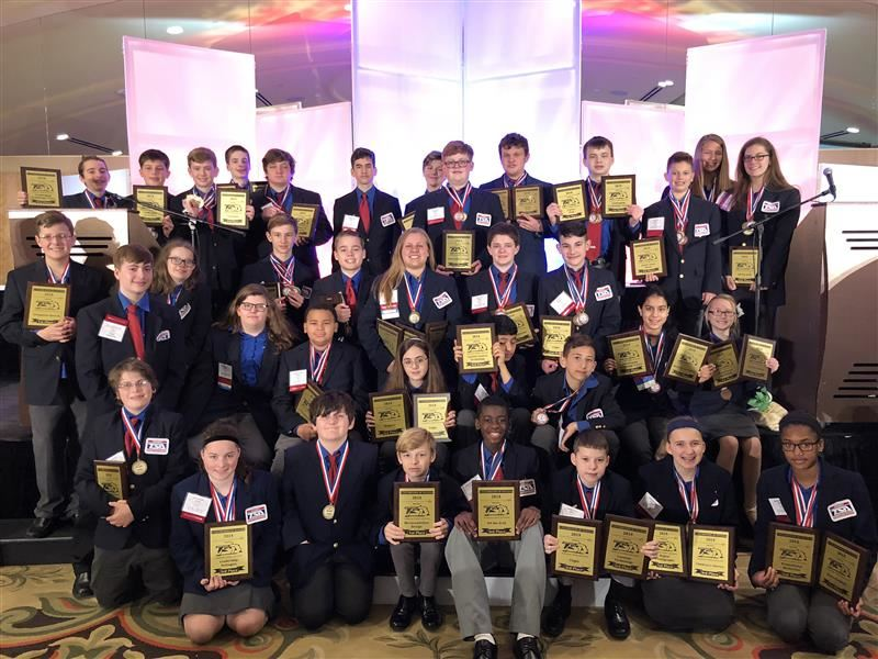 TSA Wins Big At State Competition
