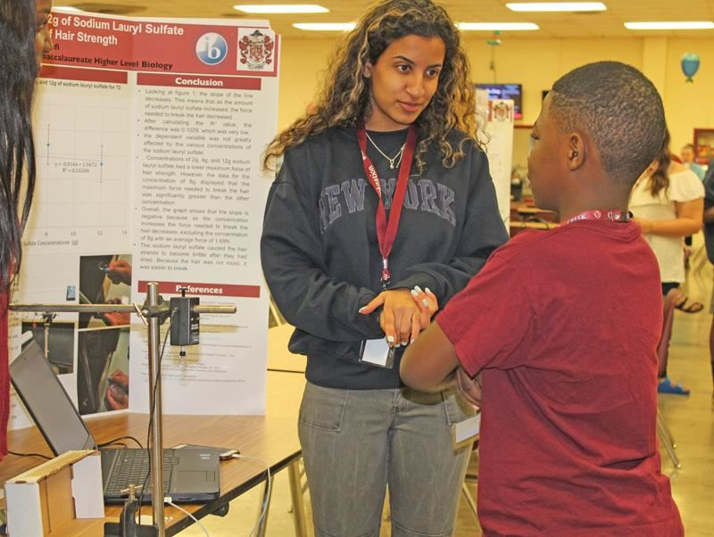 IB Showcase demonstrates cohesive mission on Tates Creek campus