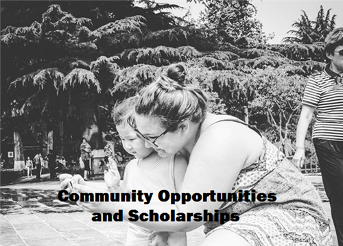 Community Opportunities and Scholarships