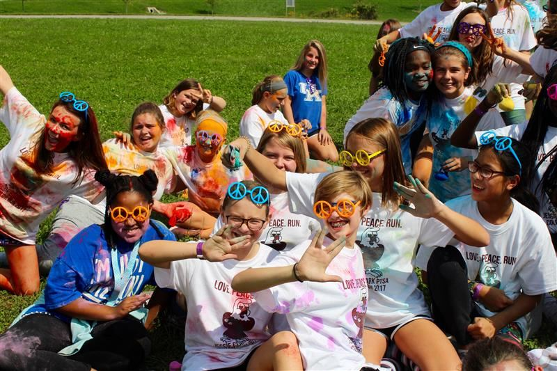 ptsa color run students