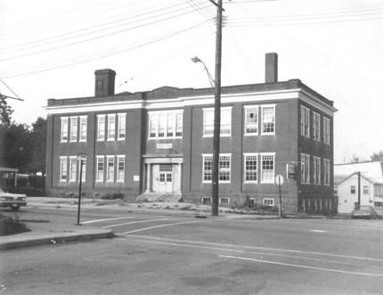 Old picture of school building
