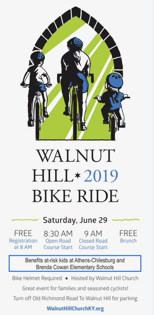 Walnut Hill 2019 Bike Ride