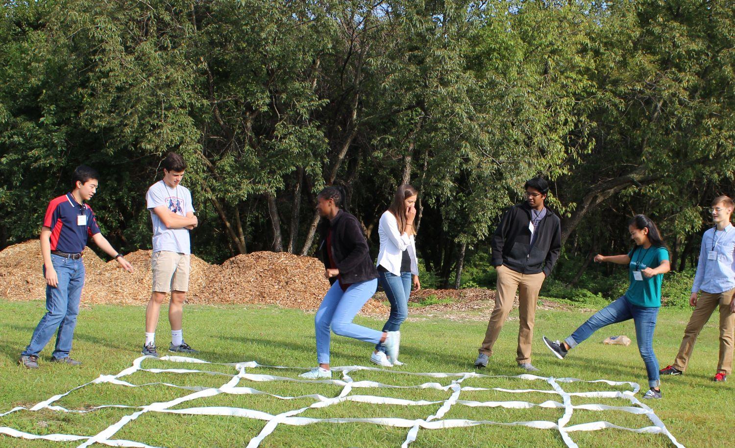 leadership games for teens